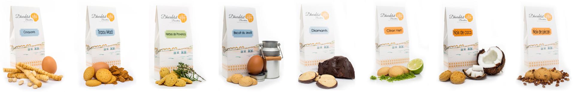 Biscuits Dhardelot