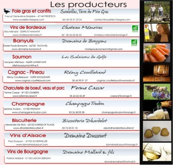 DHARDELOT BISCUITIERS-INVITATION VEDETTES GOURMANDES NOV 2015-PRODUCTEURS