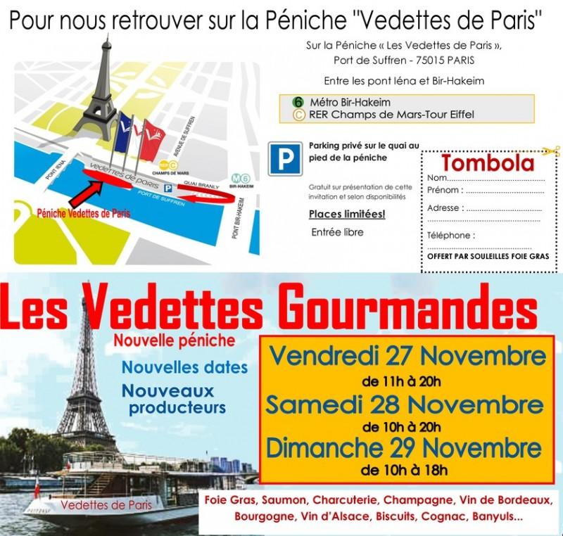 """RDV salon """"Les Vedettes Gourmandes"""""""